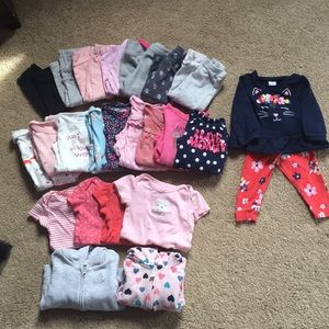 Bundle 9 months baby girl clothes